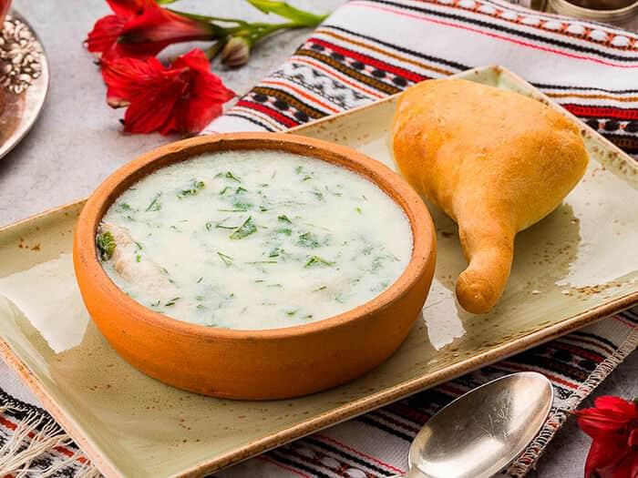 Чихиртма с курицей, грузинский суп