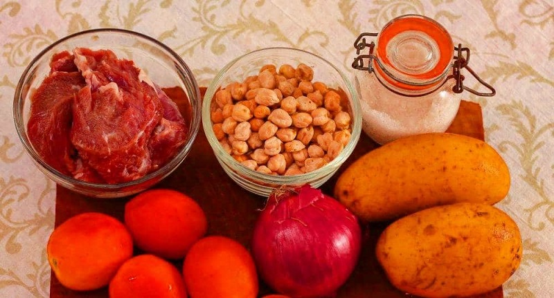Бозбаш, рецепт, ингредиенты