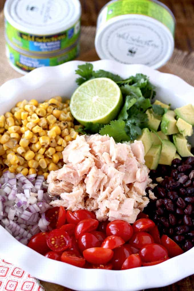 Ингредиенты для салата Кукурузинка